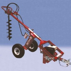 Auger tow-behind