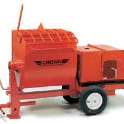 Mortar mixer tow-behind