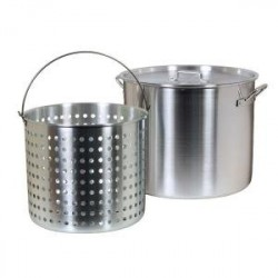 60qt pot w/ strainer